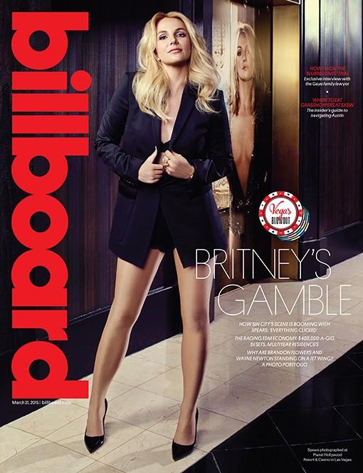 Britney Spears covers Billboard magazine