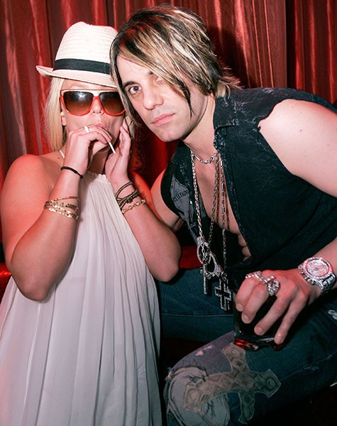 Britney Spears and Criss Angel, 2007.