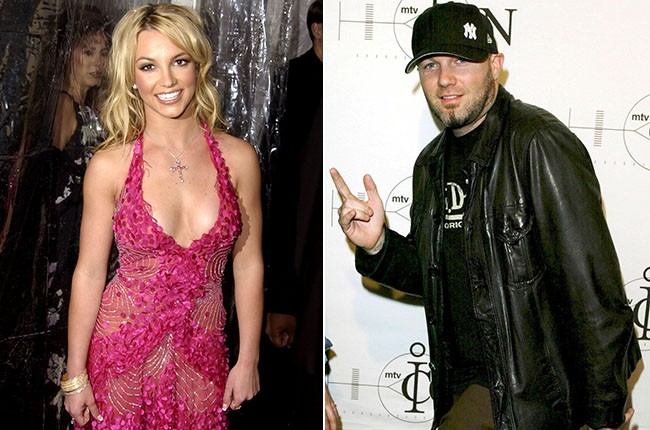 Britney Spears and Fred Durst, 2002.