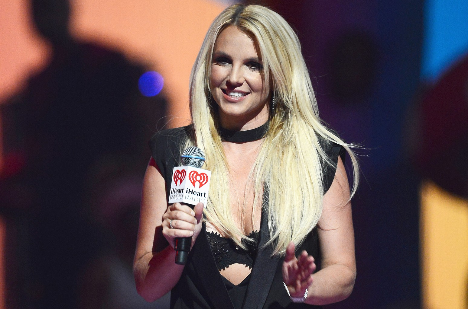 Britney Spears at the iHeartRadio Music Festival