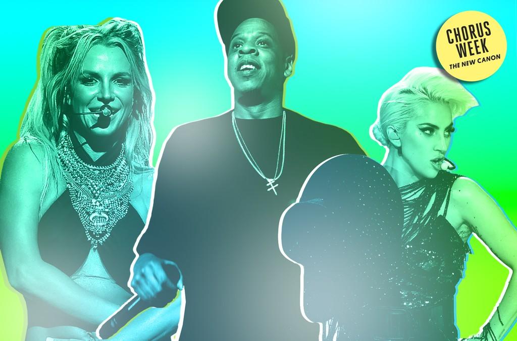 Britney Spears, Jay Z & Lady Gaga