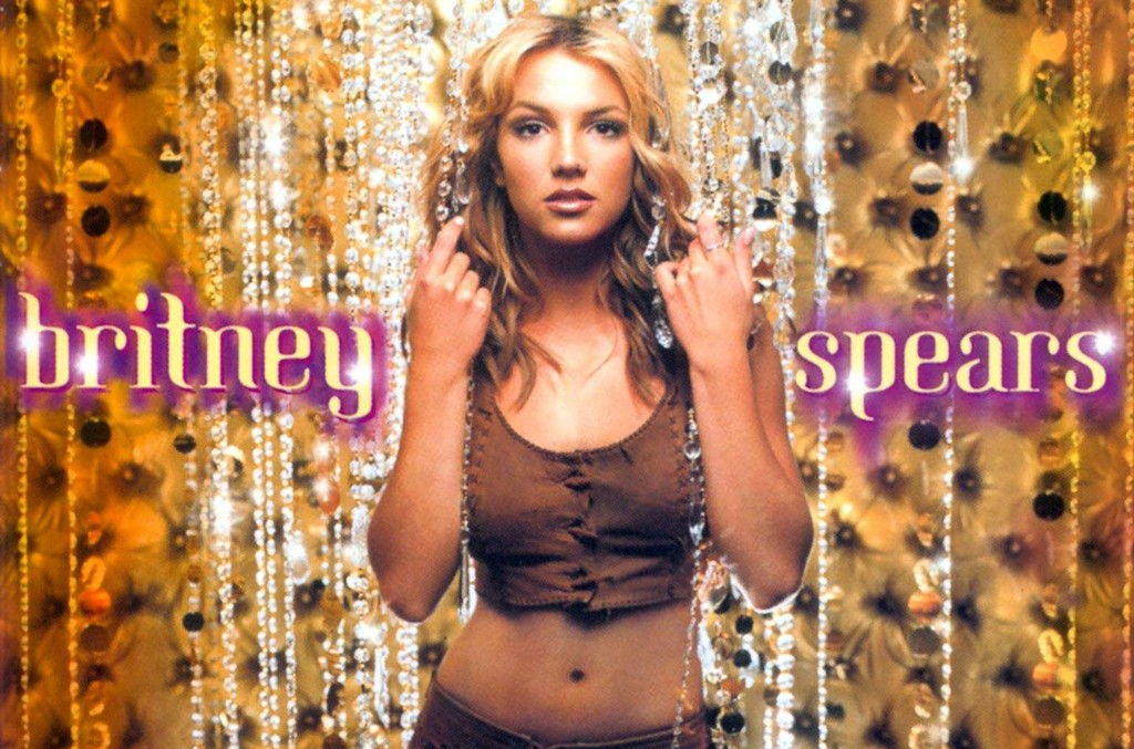 Britney Spears on the cover of Oops!...I Did It Again.