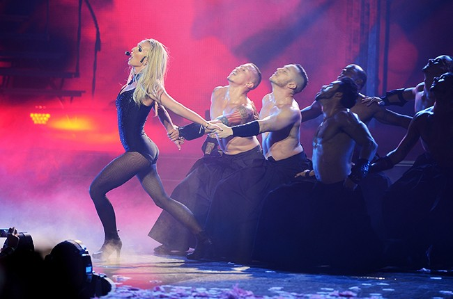Britney Spears performs at her Britney: Piece Of Me