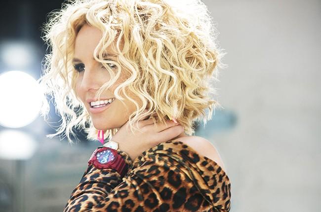 "Britney Spears & Iggy Azalea in the music video for ""Pretty Girls."""