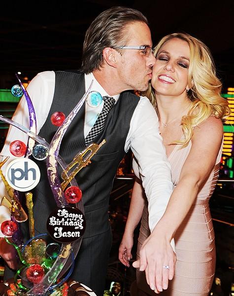 Jason Trawick and Britney Spears, 2011.