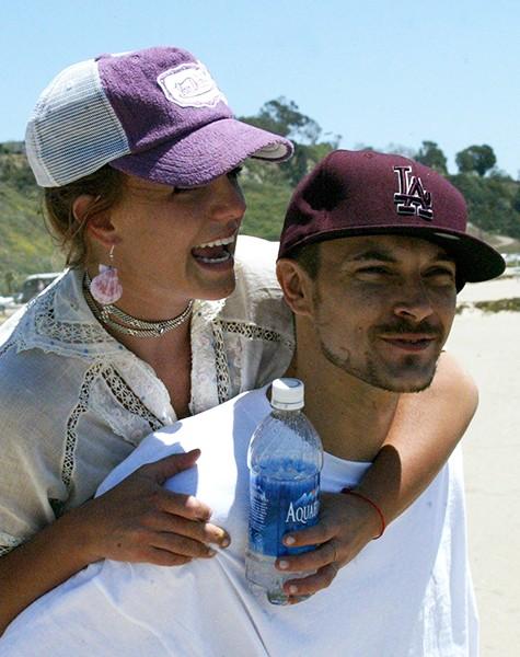 Britney Spears and Kevin Federline, 2004.