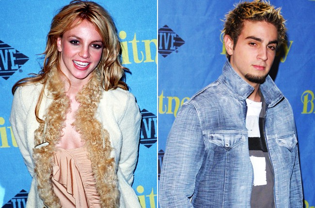 Britney Spears and Wade Robson, 2001.
