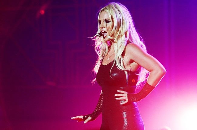 Britney Spears performs during her Britney: Piece Of Me Show at Planet Hollywood