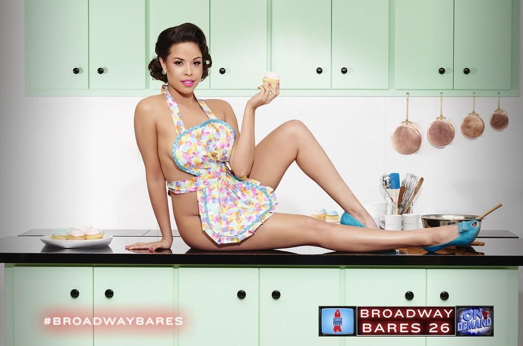 "Jessica Seavor in ""Broadway Bares 26: On Demand."""