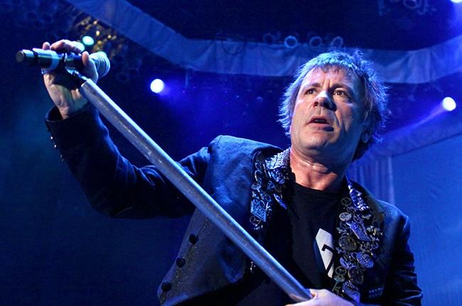 Bruce Dickinson Iron Maiden 2012