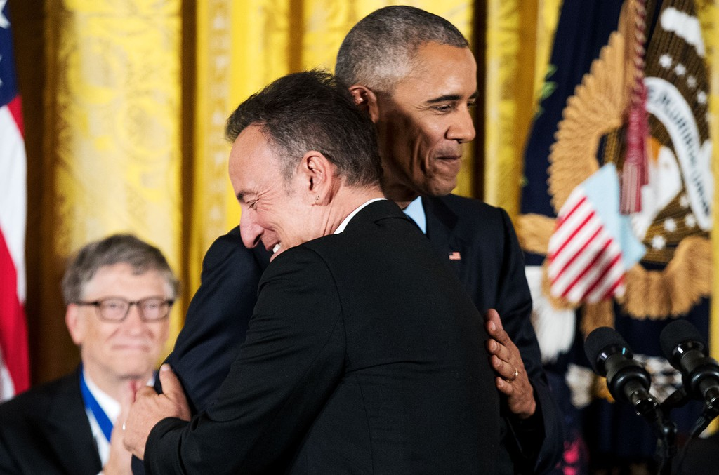 Bruce Springsteen & President Barack Obama