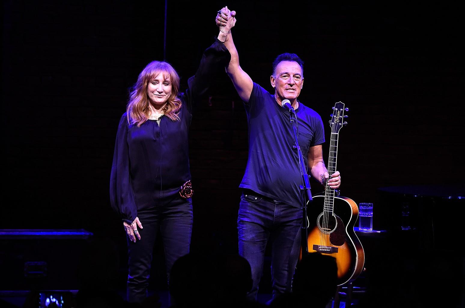 Patti Scialfa and Bruce Springsteen, 2017