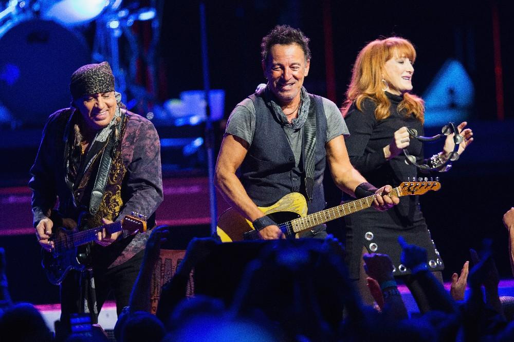 Steven Van Zandt, Bruce Springsteen Patty Scialfa 2016