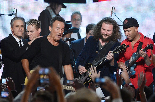 Bruce Springsteen at the MusiCares Person of the Year Gala