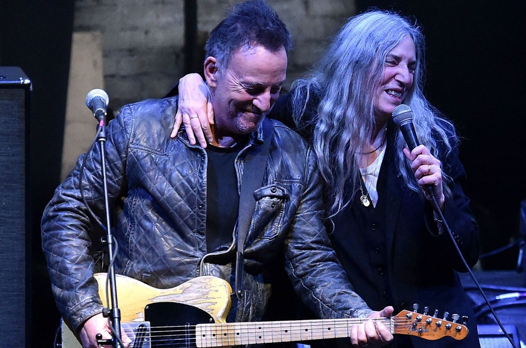 Bruce Springsteen and Patti Smith