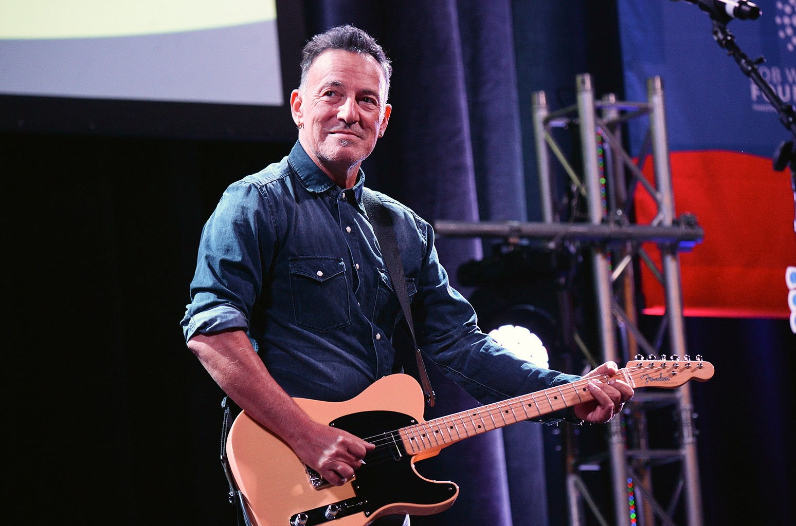 Bruce Springsteen performs in 2016