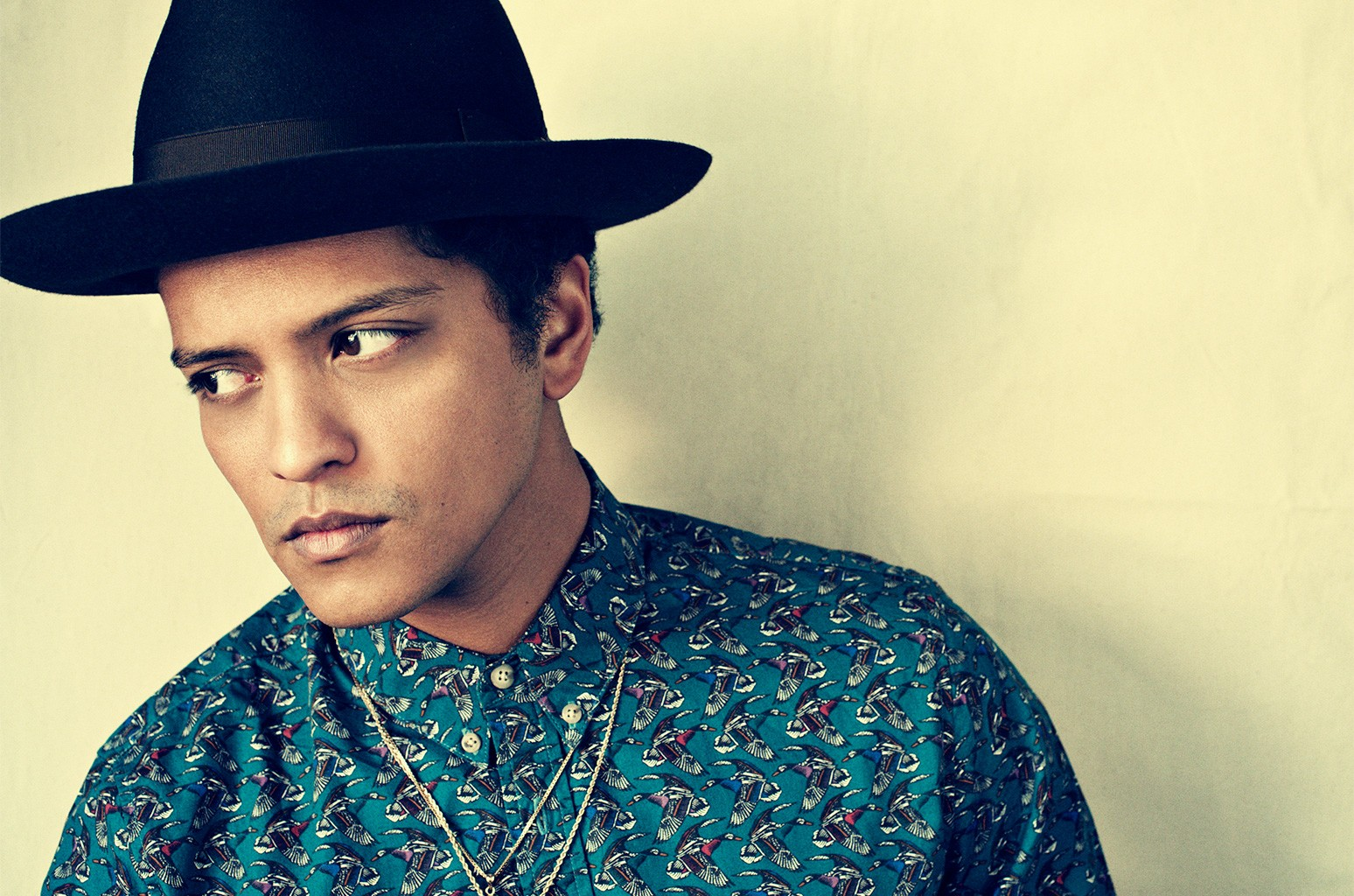 Bruno Mars photographed in 2012.