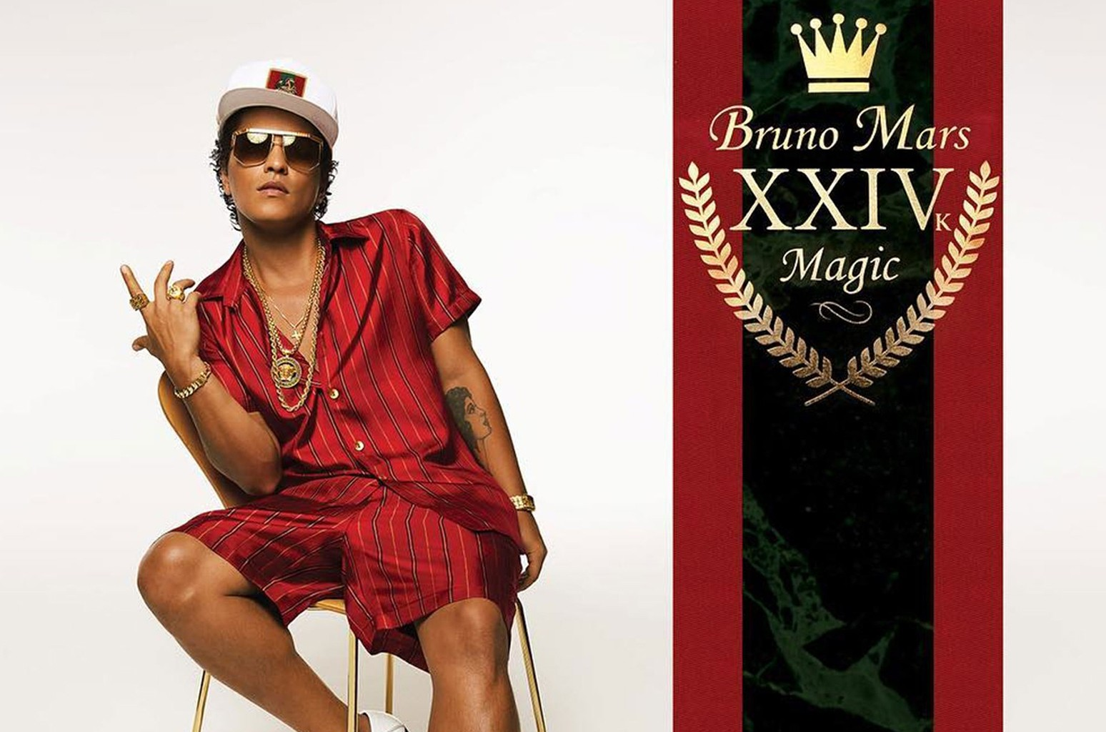 """24K Magic"" by Bruno Mars."