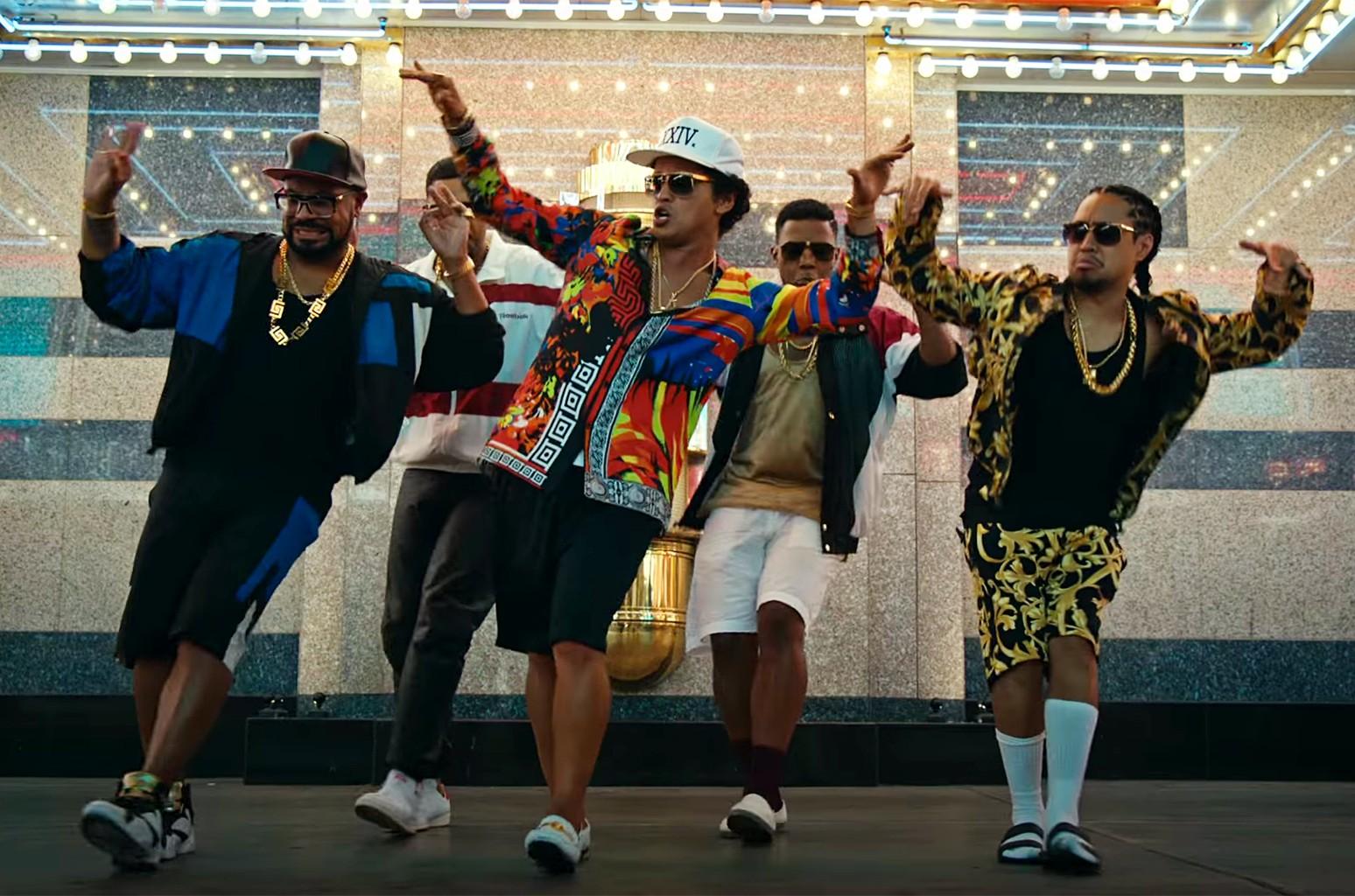 "Bruno Mars, ""24K Magic"""