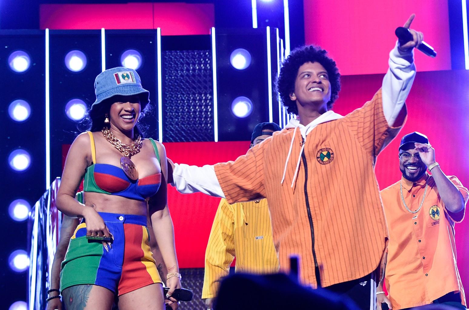 Bruno Mars Cardi B