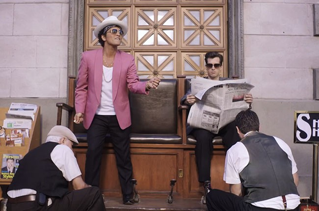 Bruno Mars and Mark Ronson