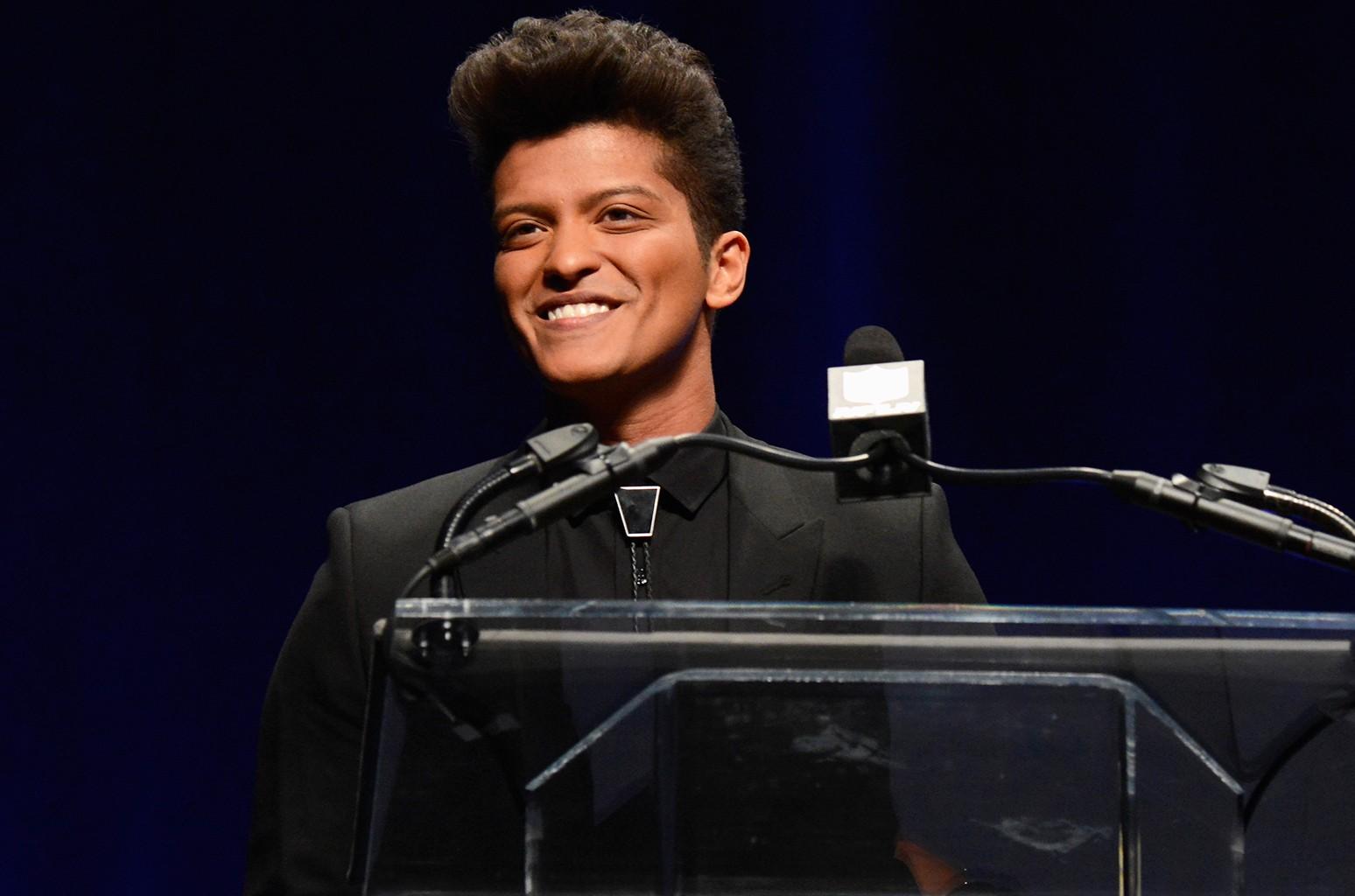 Bruno Mars in New York City