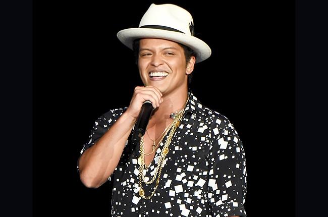 Bruno Mars 2015