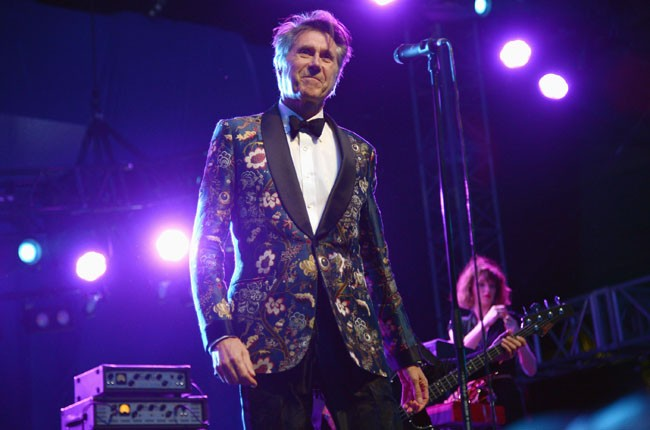 Bryan Ferry performs onstage during day 1 of 2014 Coachella