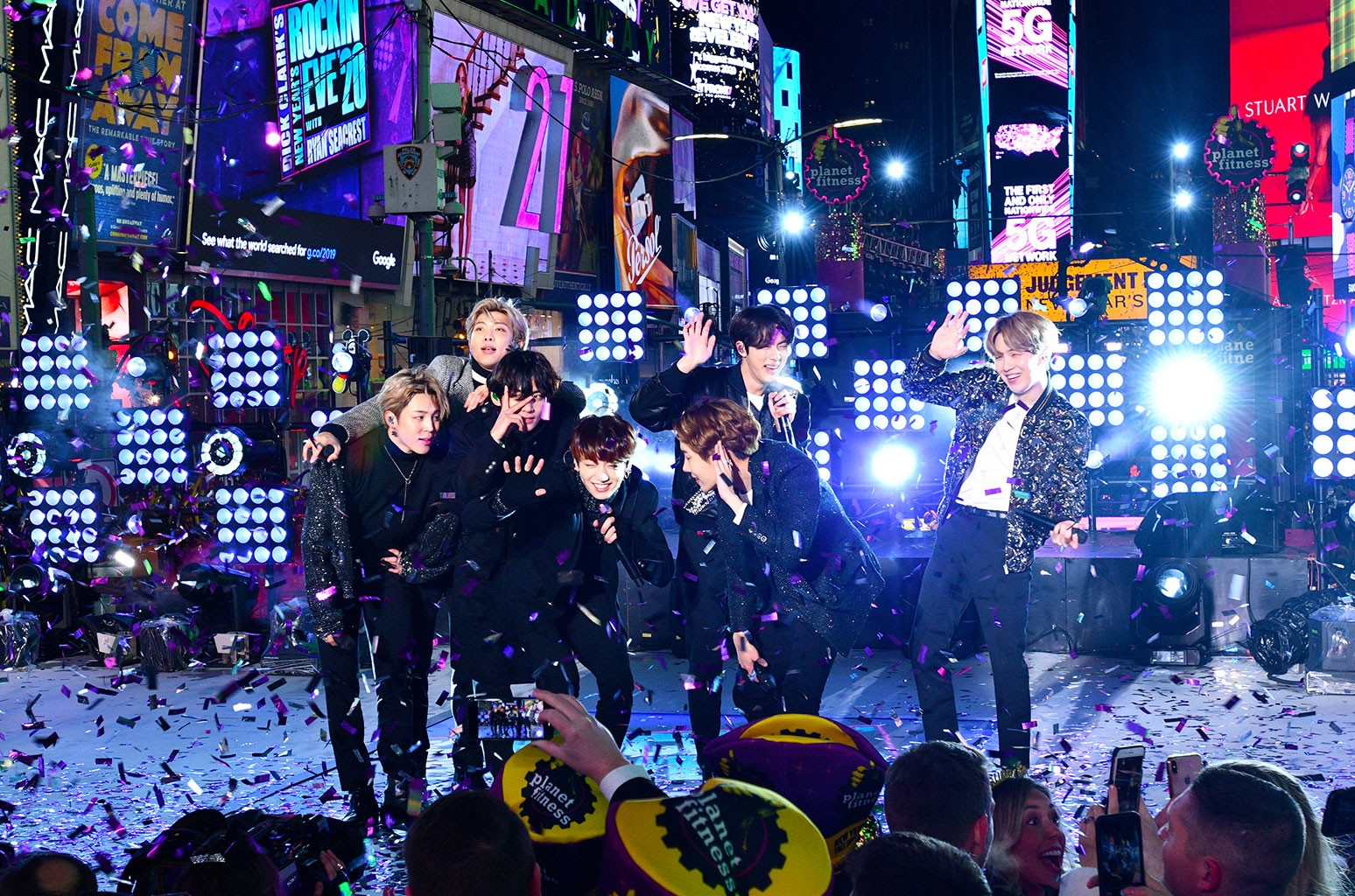 Rockin Christmas Eve 2020 BTS Ushers in 2020 With Stellar Performances at New Year's Rockin
