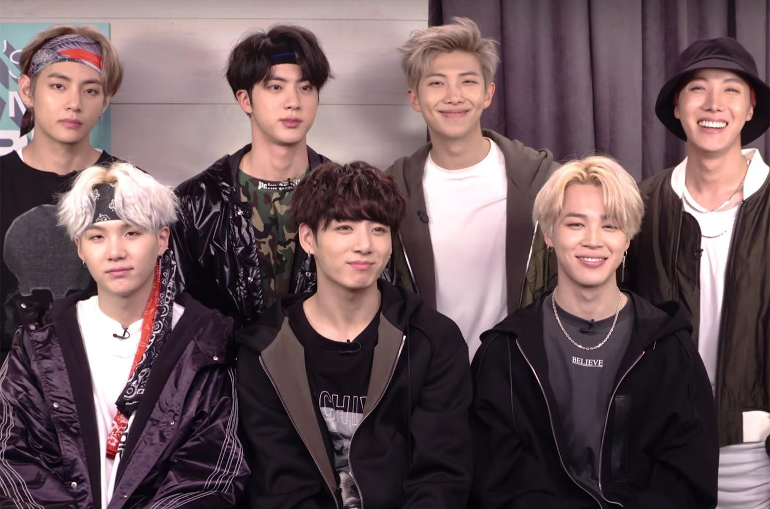 BTS The Ellen Show