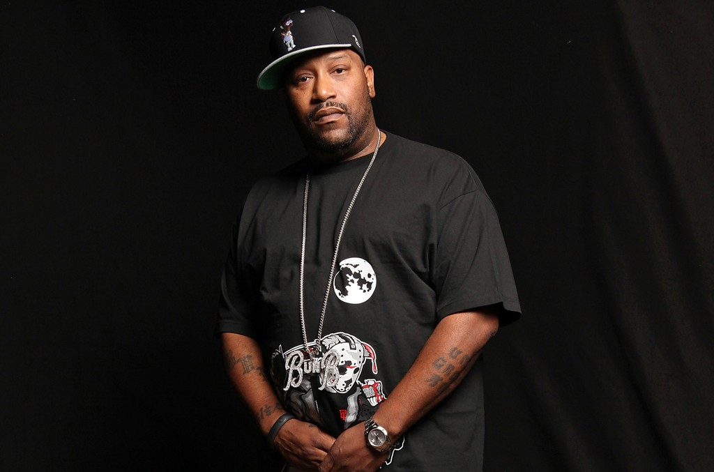 Bun B poses for a portrait backstage at The Fader Fort presented by Converse during SXSW on March 16, 2013 in Austin, Texas.