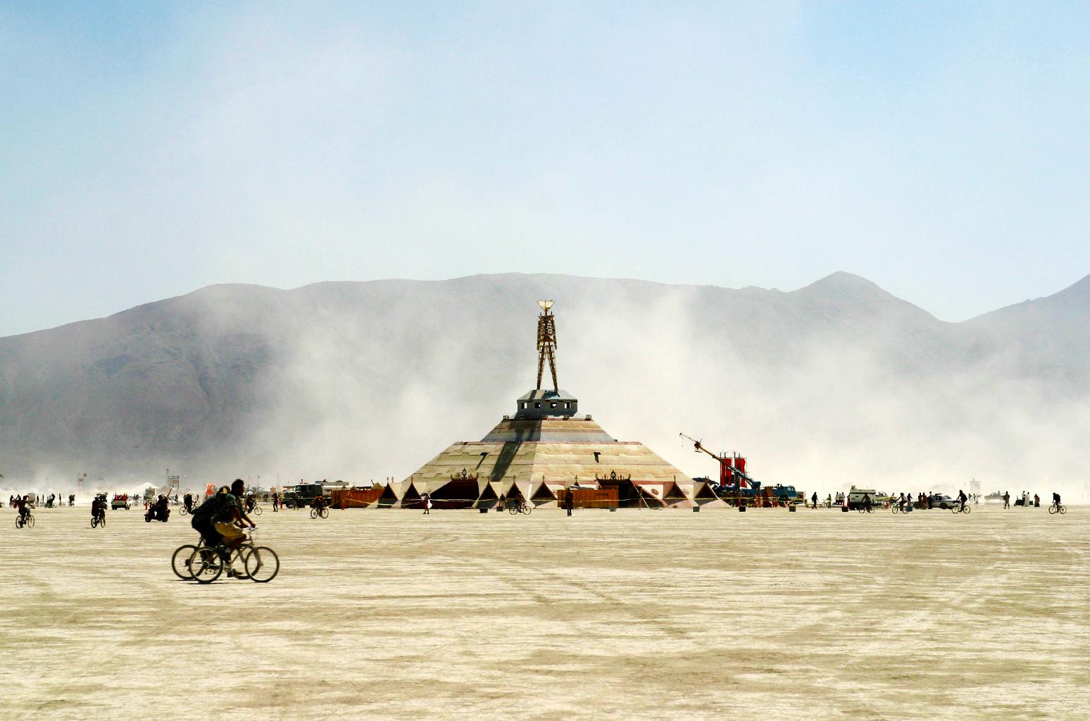 Burning Man Festival Wheel Champion Hoodie Light Steel