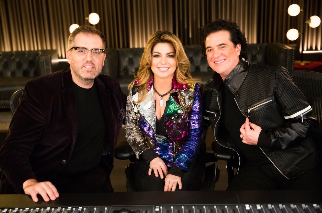 Busbee, Shania Twain Scott Borchetta the launch