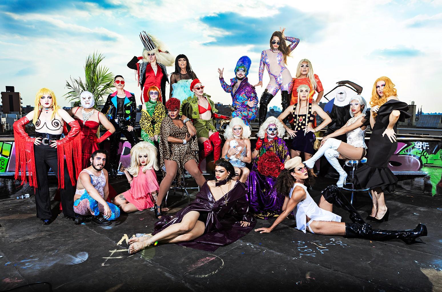 Bushwig drag queens