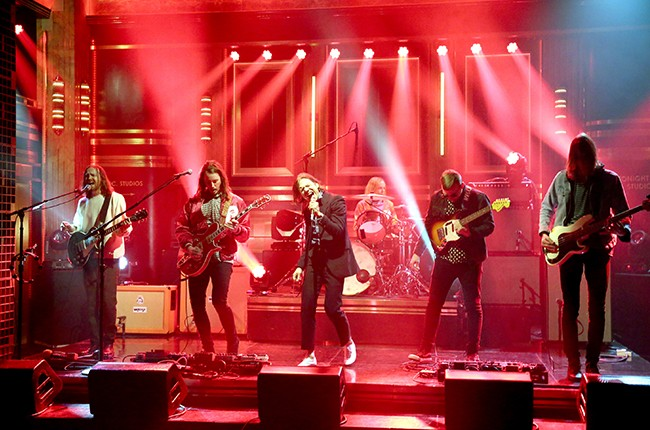 Cage the Elephant The Tonight Show Starring Jimmy Fallon