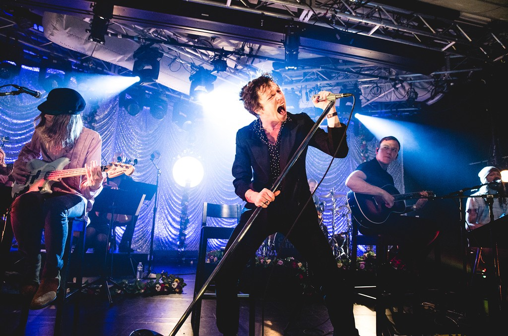 Cage The Elephant perform During the iHeartRadio Album Release Party at the iHeartRadio Theater in New York City.