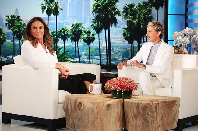 Caitlyn Jenner on Ellen