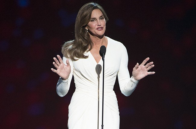 Honoree Caitlyn Jenner accepts the Arthur Ashe Courage Award during The 2015 ESPYS at Microsoft Theater on July 15, 2015 in Los Angeles.