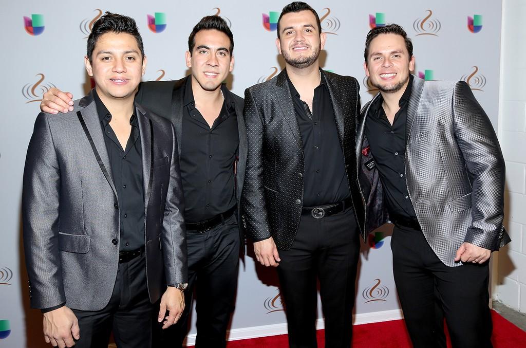Calibre 50 attend Univision's 28th Edition of Premio Lo Nuestro