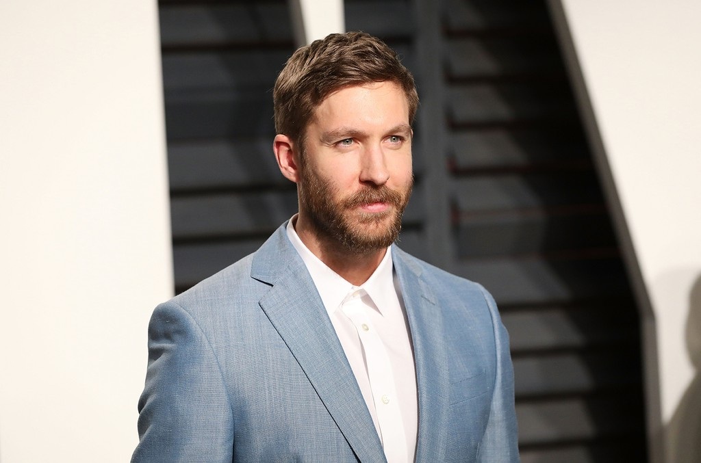 Calvin Harris attends the 2017 Vanity Fair Oscar Party at Wallis Annenberg Center for the Performing Arts on Fev. 26, 2017 in Beverly Hills, Calif.
