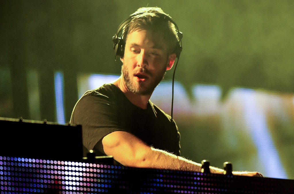 Calvin Harris performs during 106.1 KISS FM's Jingle Ball 2015 presented by Capital One at American Airlines Center on Dec. 1, 2015 in Dallas.