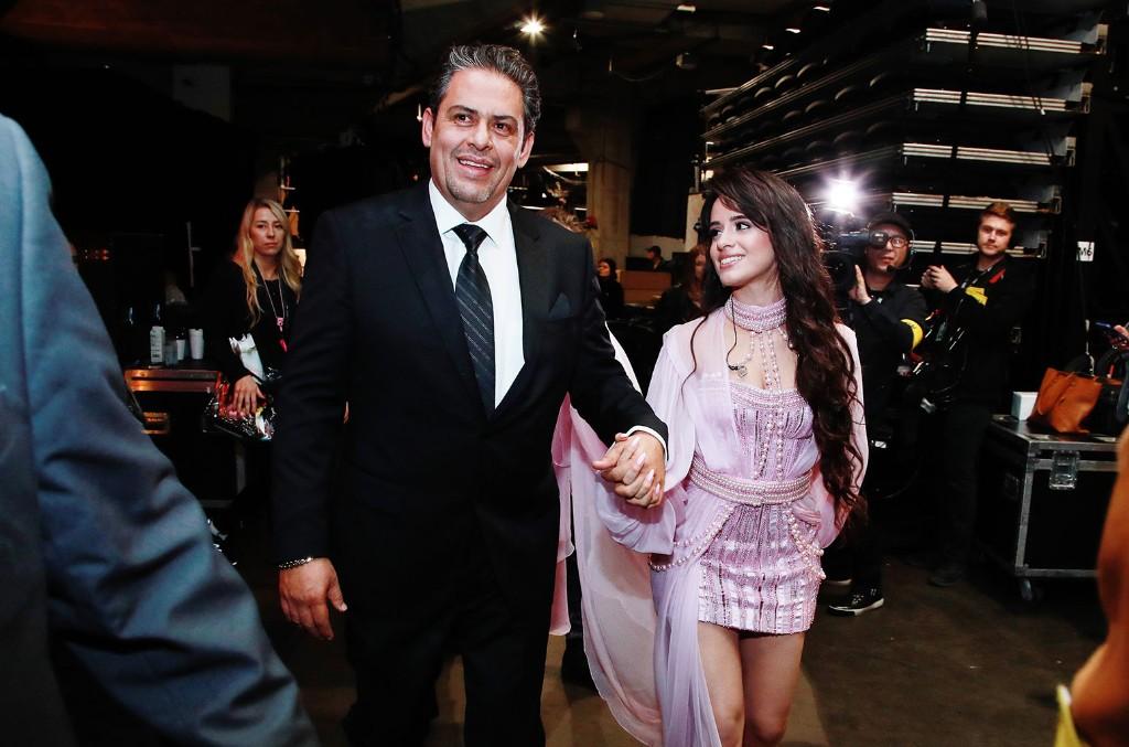 Alejandro Cabello and Camila Cabello