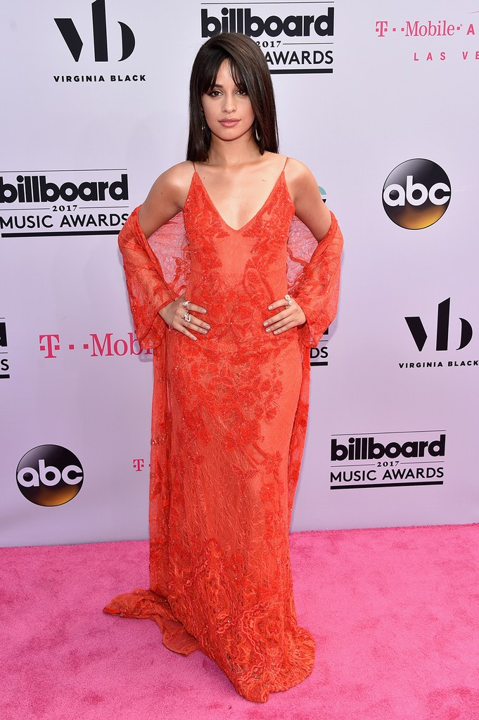 Camila Cabello attends the 2017 Billboard Music Awards at T-Mobile Arena on May 21, 2017 in Las Vegas.