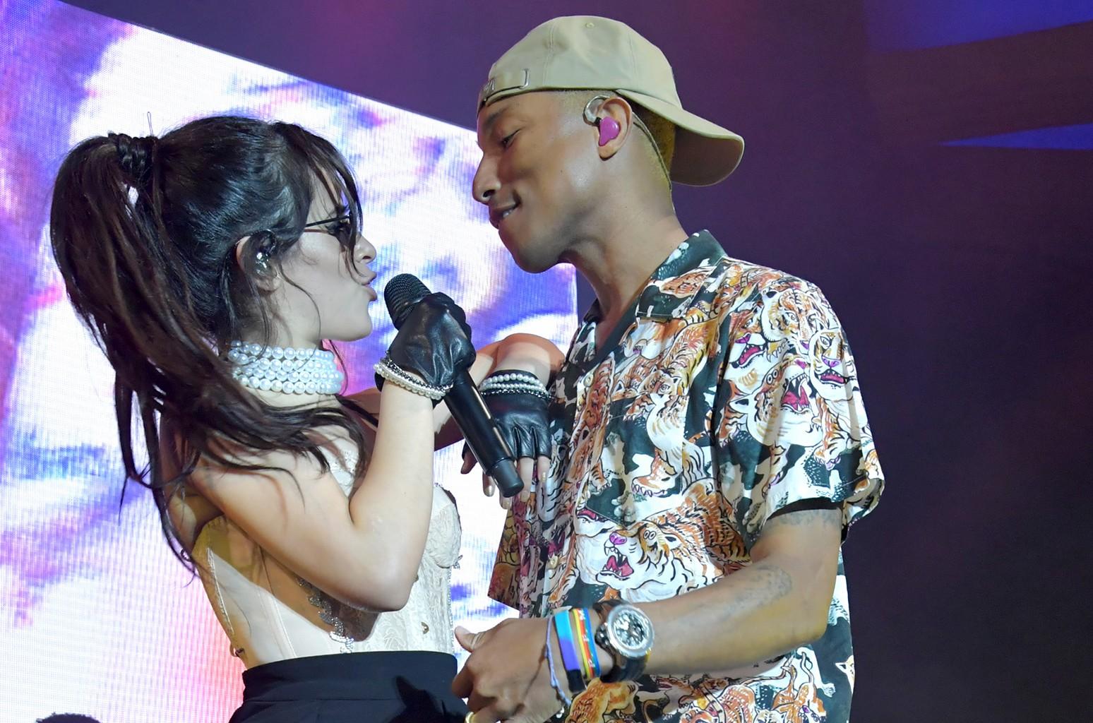 Camila Cabello Pharrell