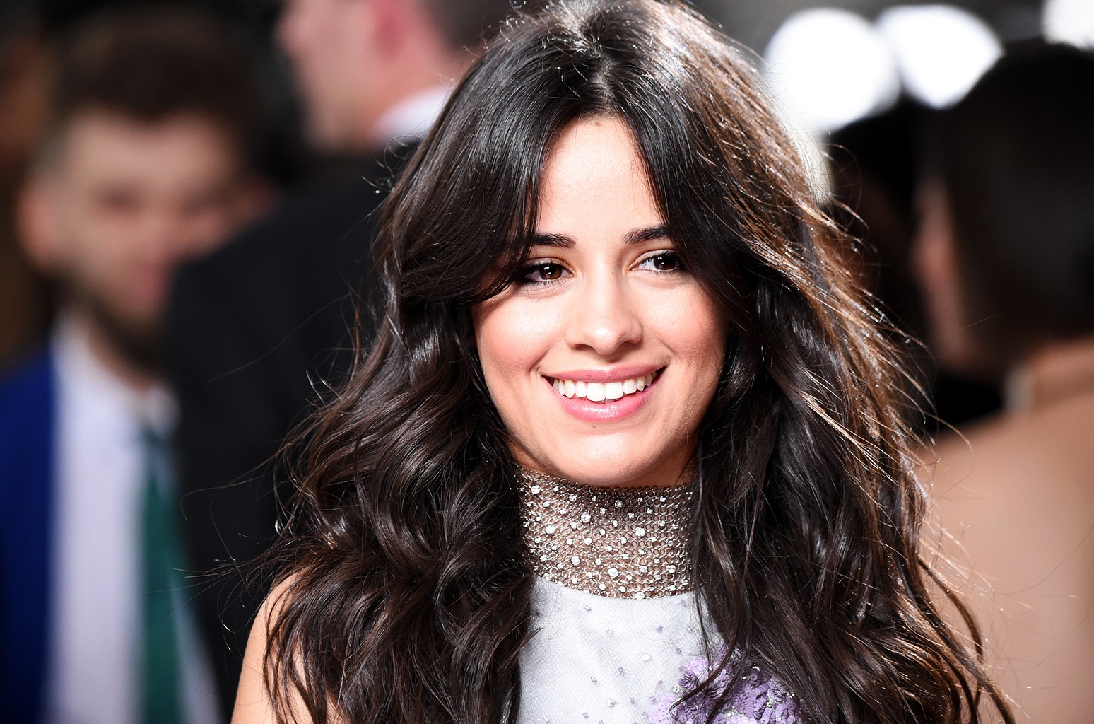 Camila Cabello attends the 59th Grammy Awards at Staples Center on Feb. 12, 2017 in Los Angeles.