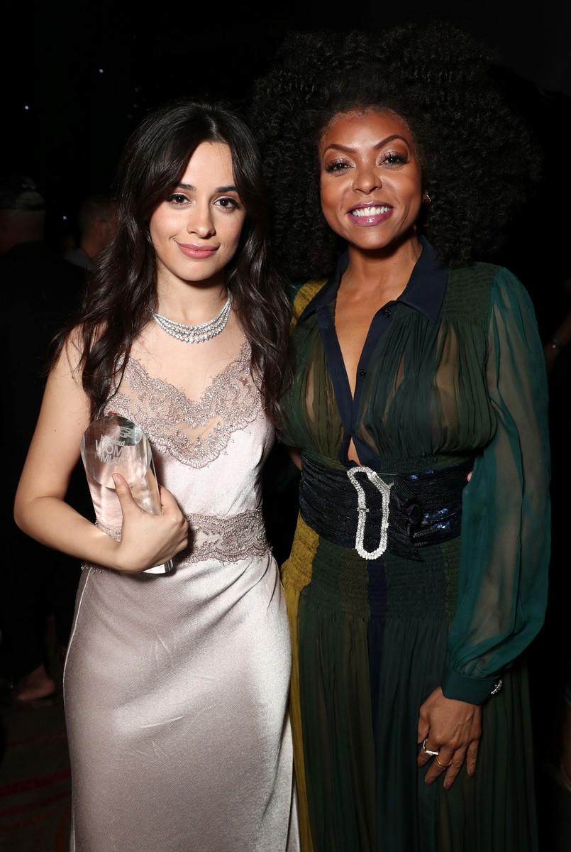 Camila Cabello and Taraji P. Henson
