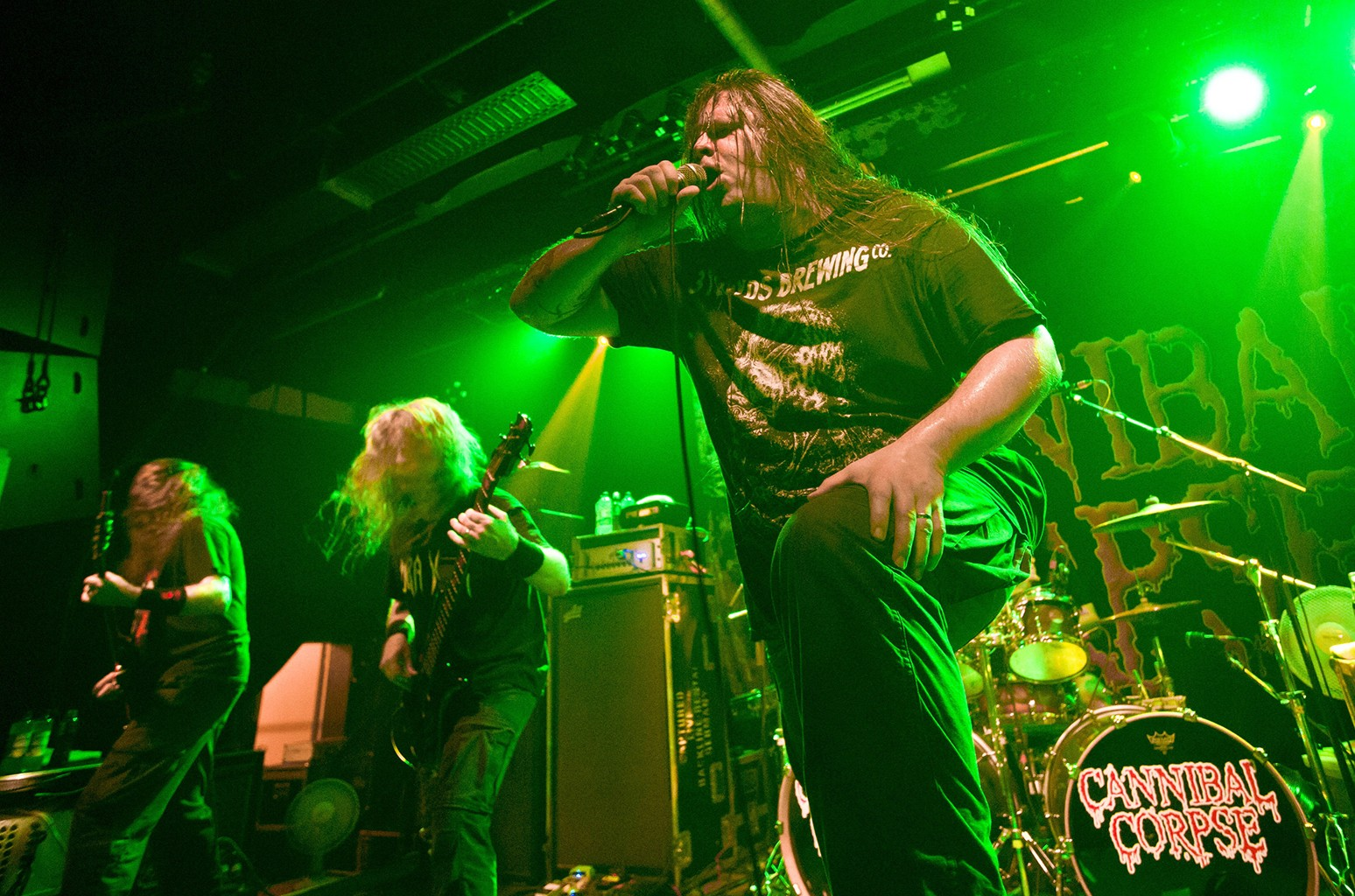 Cannibal Corpse perform at the Postbahnhof