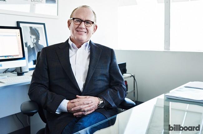 Capitol Music Group Chairman/CEO Steve Barnett Corner Office, 2015