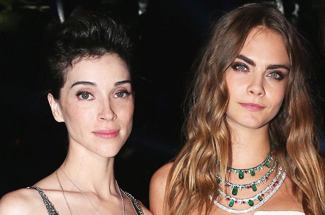 St. Vincent and Cara Delevigne 2015