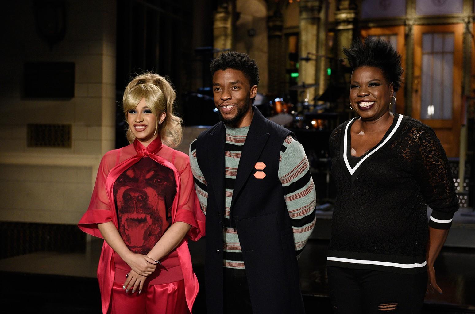 Chadwick Boseman saturday night live
